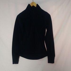 Everlast 1/4 Zip Navy Blue Fleece Pullover Sweater